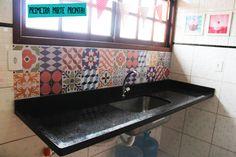 Como aplicar adesivos de azulejos hidráulicos, a transformação na nossa cozinha e uma grande novidade!                                                                                                                                                                                 Mais