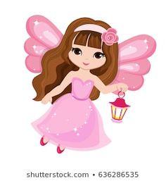 Beautiful little fairy in a pink dress with a lantern. Cute Disney Wallpaper, Cartoon Wallpaper, Fairy Clipart, Krishna Drawing, Cute Fairy, Cute Cartoon Girl, Fairy Figurines, Princess Drawings, Image Fun