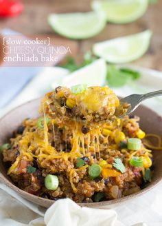 {Slow Cooker} Mexican Quinoa