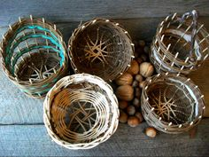 5 small baskets Amy Dugas etsy.com/shop/StormWeave