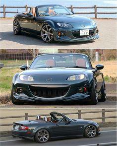 Mazda Cars, Mazda Miata, Jdm Cars, Mx5 Nb, Triumph Tr3, Mazda Roadster, Japanese Cars, Go Kart, Custom Cars