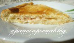 Focaccia rustica con prosciutto e mozzarella (ricetta passo passo)