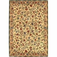 """Gallery Italian Garden Beige Rug Rug Size: 9'3"""" x 13' by kathy ireland Rugs by Shaw Living. $1329.05. 3X299-03100 Rug Size: 9'3"""" x 13' Features: -Technique: Woven.-Material: 100pct olefin.-Origin: USA.-7'8'' x 9'6''.-7'8'' round.-7'8'' x 10'10''.-5'5'' x 7'8''.-5'5'' round.-2'2'' x 3'2''.-2'6'' x 7'8'' runner.-3'10'' x 5'6''.-8'4'' round.-6'6'' x 9'.-9'3'' x 13'. Construction: -Construction: Machine made. Color/Finish: -Color: Beige. Collection: -Collection: Gallery."""