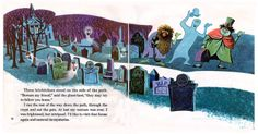 THE HAUNTED MANSION (uncredited artist) http://andeverythingelsetoo.blogspot.com.es/2012/10/the-haunted-mansion.html