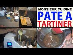 pate à tartiner maison recette (type nutella) avec le monsieur cuisine lidl silvercrest