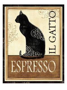 Il Gatto Premium Giclee Print