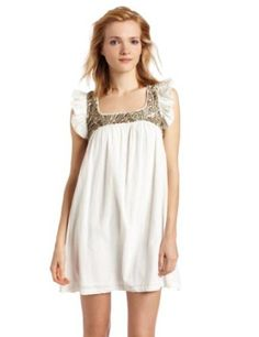 French Connection Women`s Perfectly Peasant Dress $168.00