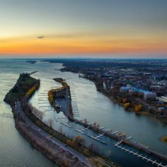 Took the drone up around the Lachine Canal to watch the sunset! --- #lachine #lachinecanal #aerial #dji #drones #quadcopter #aerialphotography #djiphantom #aerialview #dronefly #djiglobal #dronestagram #droneoftheday #dronelife #droneporn #aerialshot #dro