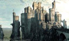 Fantasy Castle Fantasy castle Fantasy city Fantasy landscape