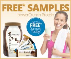 Sweepin N  More: Free Power Crunch Protein Samples
