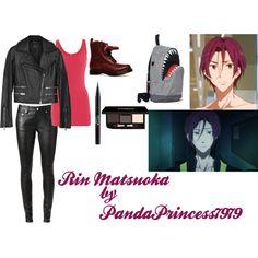 """""""Rin Matsuoka"""" by pandaprincess7979 on Polyvore"""