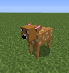 Minecraft fawn maybe a MO CREATURES MOD