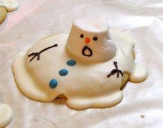 Oh Nooooooooo! melting snow man.