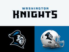 Washington Knights designed by CJ Zilligen. Connect with them on Dribbble; the global community for designers and creative professionals. Football Uniforms, Sports Uniforms, Football Team, Football Helmets, Football Rooms, Sports Decals, Sports Logos, Football Logo Design, Knight Logo