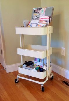 IKEA Raskog Cart in Cream