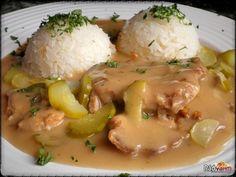 Pork slices around Znojmo - Best Liver Detox Cleanse Onion Recipes, Meat Recipes, Chicken Recipes, Cooking Recipes, Best Liver Detox, Liver Detox Cleanse, Czech Recipes, Ethnic Recipes, Quiche