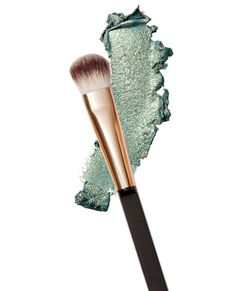 How to get glowing winter skin: 8. PLAY MISTY. Try Chanel's Illusion d'Ombre Long Wear Luminous Eyeshadow in Épatant ($36; chanel.com) and Flower Ultimate Eyeshadow Makeup Brush ($8; walmart.com). #InStyle
