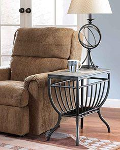 Signature Design by Ashley Antigo Slate Chair Side End Table Signature Design by Ashley http://www.amazon.com/dp/B0012DN69Q/ref=cm_sw_r_pi_dp_YhnYub0M8MTT2