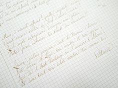 """11 Likes, 1 Comments - Callimorphose (@callimorphose) on Instagram: """"Expérimentation pour écrire comme Voltaire #penmanship #calligraphy #handmade #handlettering…"""""""