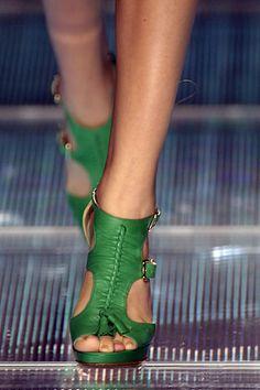 #versace #kelly #green