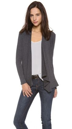 Great cotton cardigan from Three Dots