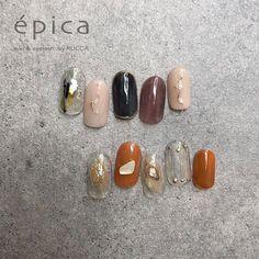 épica_nail_eyelashさんはInstagramを利用しています:「ㅤㅤㅤㅤㅤㅤ ㅤㅤㅤㅤㅤㅤ 8月monthly design epica_nail_design♪ ¥8,000〜 ㅤㅤㅤㅤㅤㅤ ㅤㅤㅤㅤㅤㅤ 6パターンよりお選び頂けます♪ お色変えはokです♪ . ㅤㅤㅤㅤㅤㅤ ㅤㅤㅤㅤㅤㅤ #マツエク同時#マツエク…」 Japanese Nail Design, Japanese Nails, Opal Nails, Bling Nails, Nextgen Nail Colors, Cute Nails, Pretty Nails, Les Nails, Korean Nails