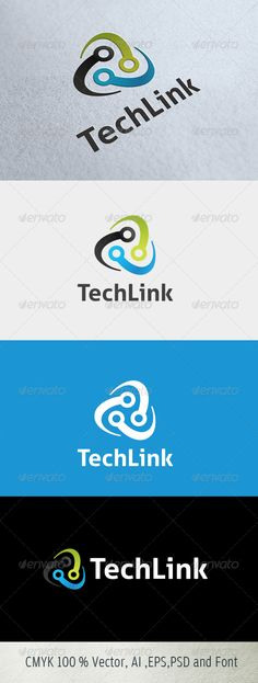 logo for just 29$ only on graphicriver.com TechLink