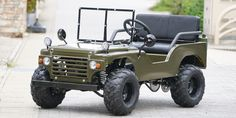 Big Force mini jeep is the ideal gift for car-crazy kids