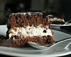 τούρτα σοκολάτα με κρέμα μασκαρπόνε