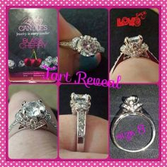 Tart reveal!  Amazing diamond ring!