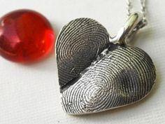 Fingerprint Jewelry and Dog Nose Print Jewelry by Jackie Kaufman