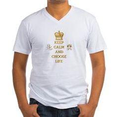 KEEP CALM AND CHOOSE LIFE Men's V-Neck #T-Shirt> KEEP CALM AND CHOOSE LIFE> Artist4God...#prolife #antiabortion #keepcalm #chooselife #fashion #clothing #religious #Christian #Catholic #Jewish #pregnancy #pregnant #baby #unborn #unbornbaby #life #love #RoseSantuciSofranko  #Artist4God #ChristmasGifts #presents