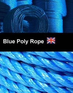 Tarpaulins Buy One Give One Polyrope Polypropylene Blue Poly Rope Hanks Boats Lower Price with 6mm X 10 Meters