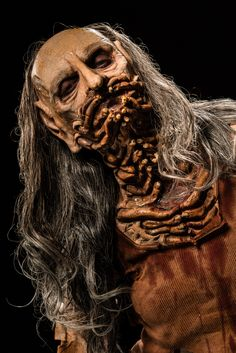 Face Off Pictures - View galleries of every episode. See photos from Face Off episodes and see the latest cast photos and more on SYFY! Face Off Makeup, Scary Makeup, Movie Makeup, Sfx Makeup, Arte Horror, Horror Art, Creature Feature, Creature Design, Insect Legs