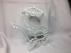 Dollhouse Miniature 1 Scale Baby Carriage aka Pram by MiniEstates