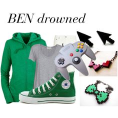 BEN drowned outfit for girls Casual Cosplay, Cosplay Outfits, Cosplay Costumes, Cosplay Ideas, Ben Drowned, Fandom Outfits, Tomboy Outfits, Character Outfits, My Outfit