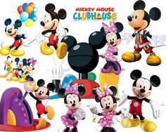 mickey mouse clubhouse birthday party sign drinks 8 5 x 11 instant rh pinterest com free mickey mouse clubhouse clipart mickey mouse clubhouse characters clipart