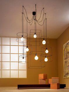 nouveaut muuto la rosace multiple pour suspension ampoule e27 muuto pi ces de monnaie. Black Bedroom Furniture Sets. Home Design Ideas