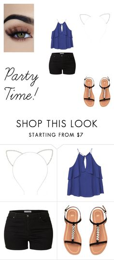 """Summer Party!"" by natasha8pizza on Polyvore featuring Forever 21, MANGO and LE3NO"