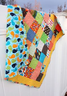 Bright new quilt + baby quilt kits - Diary of a Quilter - a quilt blog