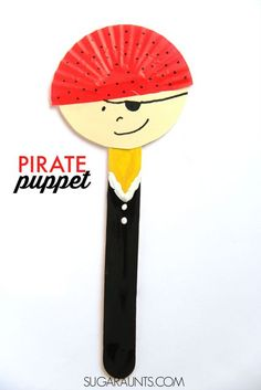 Pirate Puppet Craft