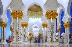 En güzel dekorasyon paylaşımları için Kadinika.com #kadinika #dekorasyon #decoration #woman #women Sheikh Zayed Grand Mosque
