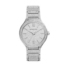 Women's Wrist Watches - Michael Kors Kerry Crystal Pave Stainless Steel Ladies Watch MK3359 * Details can be found by clicking on the image. (This is an Amazon affiliate link)