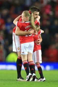 Michael Carrick, Louise & Jacey