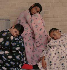 girls at rest : minami kinoshita, blesnya minher and amelia rami for kenzo