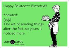 I remembered I forgot your birthday - Google zoeken