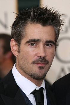 Colin Farrell, John Travolta, Moustache, Celebrity Haircuts, Great Haircuts, Clean Shaven, Jonathan Rhys Meyers, Star Wars, Logan Lerman