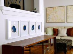 Dans le Lakehouse: My DIY Agate Art
