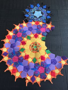 Start of The Passacaglia Quilt
