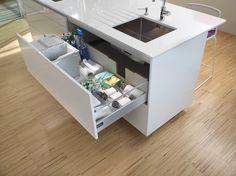 Santos: Kitchens designed to help you Larder Cupboard, Kitchen Cupboard Doors, Kitchen Drawers, Kitchen Cabinets, Kitchen Sink, Japan Apartment, Cocina Office, Kitchen Cabinet Manufacturers, Spanish Kitchen